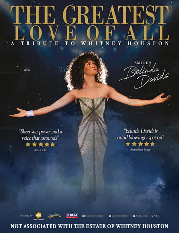 Hommage à Whitney Houston • The greatest love of all